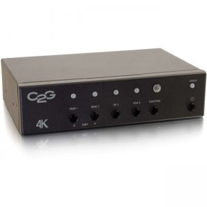 C2G DisplayPort, HDMI, and VGA to HDMI Adapter Converter Switch 40848