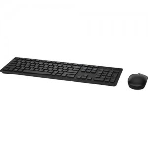 Dell - Certified Pre-Owned Wireless Keyboard and Mouse- (Black) 6PM08 KM636