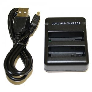 BTI Dual USB Charger GPRO-AHDBT-401-CH