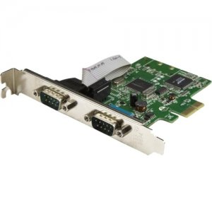 StarTech.com 2-Port PCI Express Serial Card with 16C1050 UART - RS232 PEX2S1050