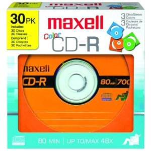 Maxell Designer CD Recordable Media 648451
