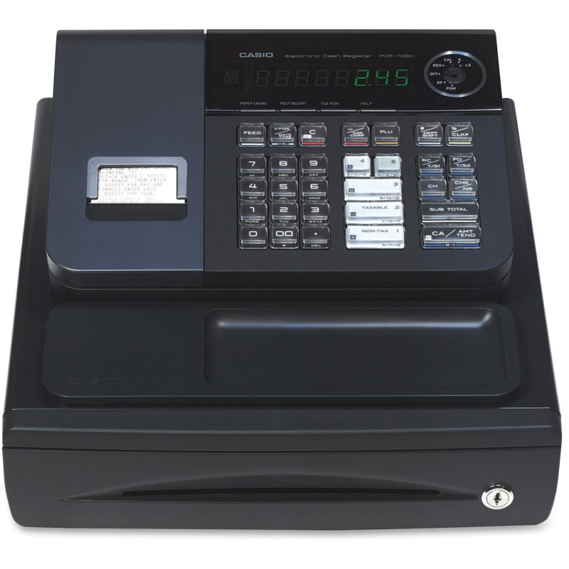 Casio PCR-T280 High-speed Printer Cash Register PCRT-280 CSOPCRT280