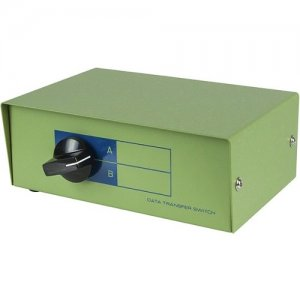 Monoprice DB9 Female, AB 2 Way Switch Box 1342