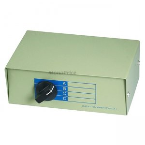 Monoprice RJ45 ABCD 4Way, Switch Box 1374