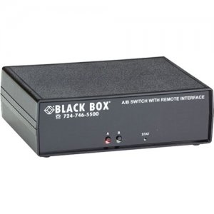 Black Box Remotely Controlled Layer 1 A/B Switch - DB9 SW1047A