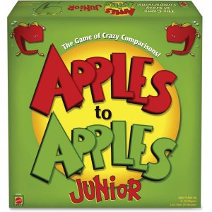Apples to Apples Mattel Junior Party Game N1387 MTTN1387