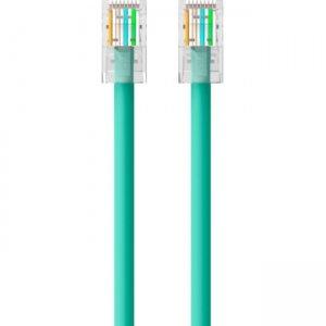 Belkin CAT6 Ethernet Patch Cable, RJ45, M/M A3L980-02-GRN