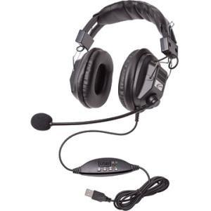Califone Switchable Stereo/Mono Headset with USB Plug 3068MUSB
