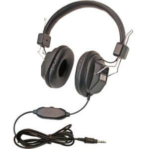 Califone 10 Pack Kids Headphone 1534BK-10L