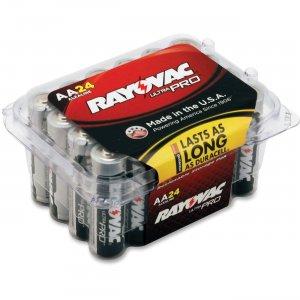Rayovac Ultra Pro Alka AA24 Batteries ALAA24FCT RAYALAA24PPJCT