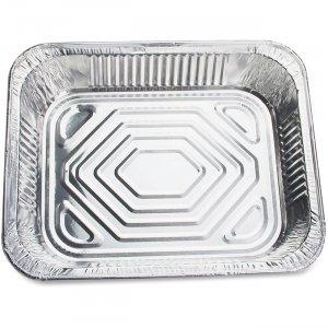 Genuine Joe Half-size Disposable Aluminum Pan 10702 GJO10702