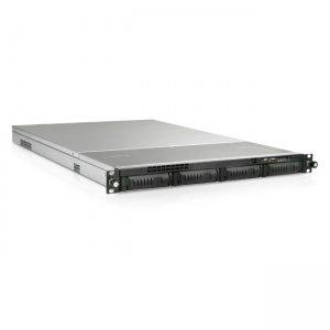 iStarUSA 1U 4-Bay Storage Server Rackmount Chassis with 650W Redundant Power Supply EX1M4-65R1UP8G