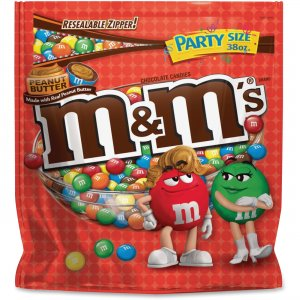 M&M's Peanut Butter Chocolate Candies SN38887 MRSSN38887
