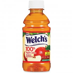 Welch's 100 Percent Apple Juice 31600 WEL31600