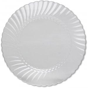 Classicware WNA Comet Hvywt Plastic Clear Plates RSCW10121 WNARSCW10121