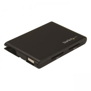 StarTech.com Dual-Slot SD Card Reader/Writer - USB 3.0 - SD 4.0, UHS II 2SD4FCRU3