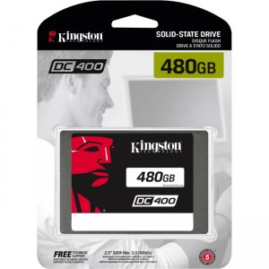 Kingston Solid State Drive SEDC400S37/480G
