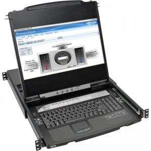 Tripp Lite NetDirector 8-Port 1U Rack-Mount Console HDMI KVM Switch B030-008-17-IP