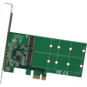IO Crest 2 Port M.2 to PCI-e x1 Adapter B or B+M Key SI-PEX40115