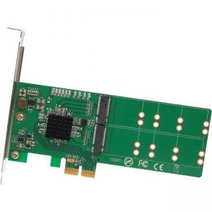 IO Crest 4 Port M.2 to PCI-e x2 B or B+M Key Adapter Card SI-PEX40116