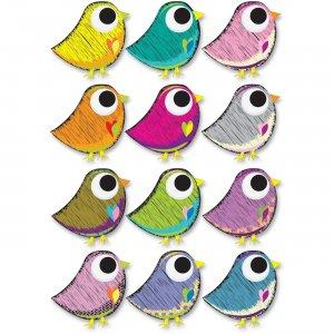 Ashley Scribble Bird Design Dry Erase Magnet 10084 ASH10084