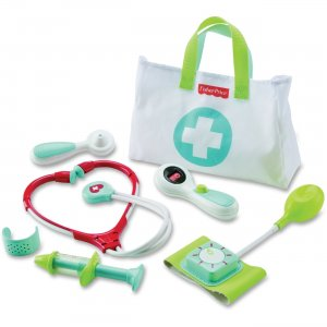 Fisher-Price Plastic Play Medical Kit DVH14 FIPDVH14
