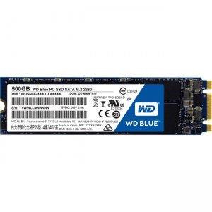 WD Blue M.2 500GB Internal SSD Solid State Drive - SATA 6Gb/s WDS500G1B0B