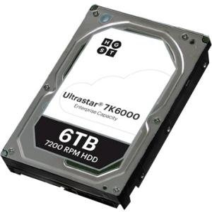 HGST Ultrastar 7K6000 SAS 6TB HDD in Carrier, CRU, 12 Pack 1EX0178