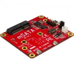 StarTech.com USB to mSATA Converter for Raspberry Pi and Development Boards PIB2MS1