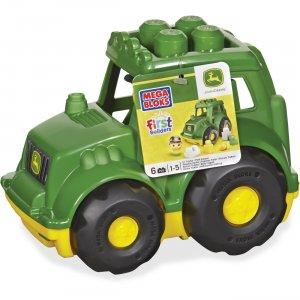 Mega Bloks First Builders John Deere Tractor Set CND89 MBLCND89