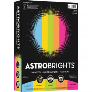 Astrobrights Colored Cardstock Paper Assortment 99904 NEE99904