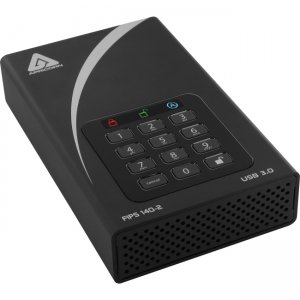 Apricorn Aegis Padlock DT FIPS - USB 3.0 Desktop Drive ADT-3PL256F-10TB