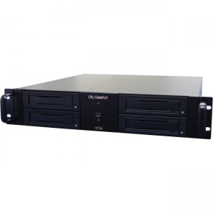 CRU RAX425DC 2U RackMount 4-bay JBOD Storage Rack for Digital Movie Content 41210-0499-0000 RAX425DC-SJ