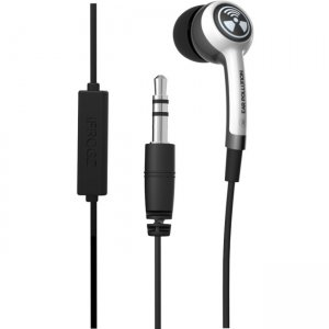 ifrogz Plugz w/Mic Ultimate Earbuds with Mic IFPLGM-WH0