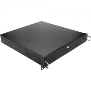 """iStarUSA 1.5U Compact 5.25"""" Bay microATX Chassis with 300W Power Supply DN-105T-30FX8"""