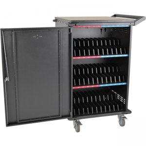 Tripp Lite 36-Device AC Charging Station Cart for Chromebooks and Laptops, Black CSC36AC