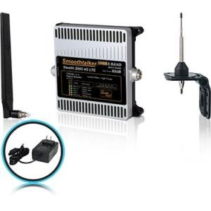 Smoothtalker Stealth Z660dB 4G LTE High Power 6 Band Cellular Signal Booster Kit BBUZ660GBO
