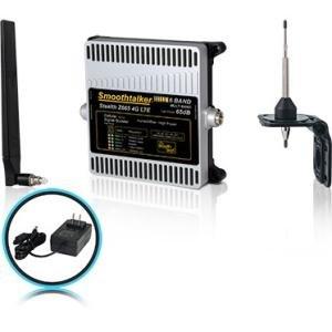 Smoothtalker Stealth Z665dB 4G LTE High Power 6 Band Cellular Signal Booster Kit BBUZ665GBO