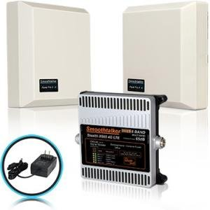 Smoothtalker Stealth X665dB 4G LTE Extreme Power 6 Band Cellular Signal Booster BBUX665GP