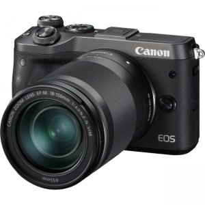 Canon EOS Mirrorless Camera with Lens 1724C021 M6