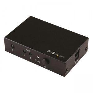 StarTech.com 2-Port HDMI Switch - 4K HDMI Switch Box - Ultra HD 4K 60Hz VS221HD20