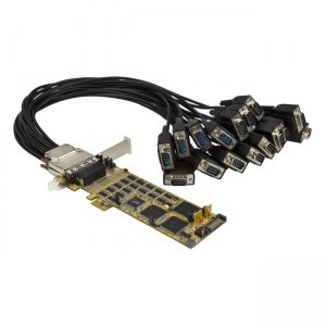 StarTech.com 16-Port Low-Profile Serial Card - RS232 - PCI Express PEX16S550LP