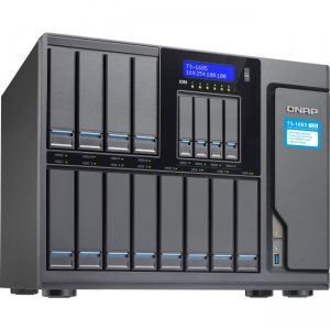 QNAP High-capacity 16-bay Xeon D Super NAS with Exceptional Performance TS-1685-D1521-16G-US TS-1685