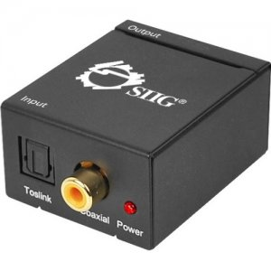 SIIG Digital to Analog Audio Converter CE-CV0011-S2