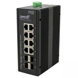 Transition Networks Managed Hardened Gigabit Ethernet Switch SISGM1040-184D-LRT