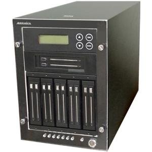 "Addonics Jasper II 11M - 1:11 M2/mSATA/2.5"" HDD/SSD High Performance Duplicator JD2-11M"