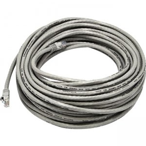 Monoprice Cat5e 24AWG UTP Ethernet Network Patch Cable, 50ft Gray 2157