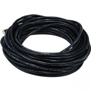 Monoprice Cat5e 24AWG UTP Ethernet Network Patch Cable, 50ft Black 2158
