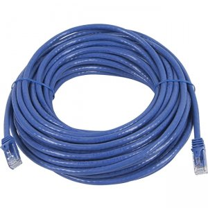 Monoprice FLEXboot Series Cat5e 24AWG UTP Ethernet Network Patch Cable, 50ft Blue 11341