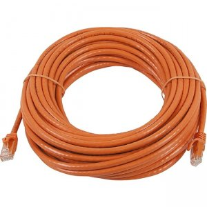 Monoprice FLEXboot Series Cat5e 24AWG UTP Ethernet Network Patch Cable, 50ft Orange 11344